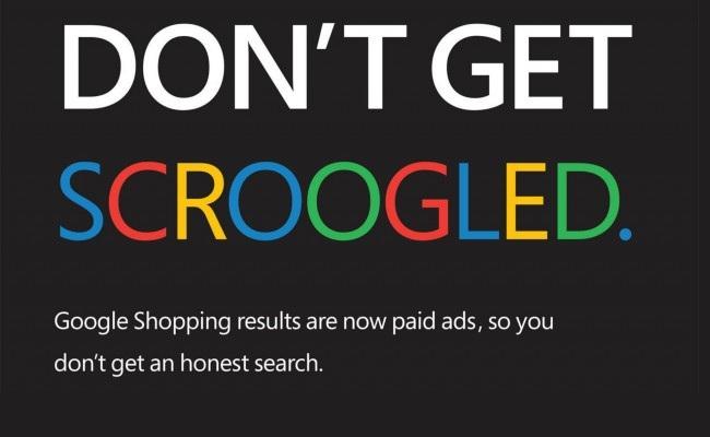 "Kundër fushata ""Scroogled"" nga Microsoft"