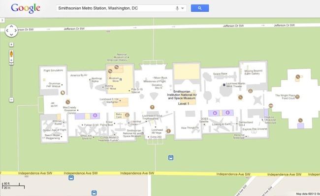 Google Maps sjell planet e objekteve në kompjuterë desktop