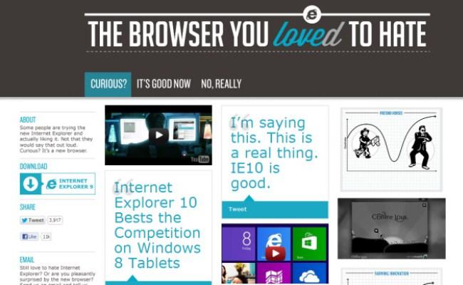 Microsoft i bën marketing Internet Explorer-it
