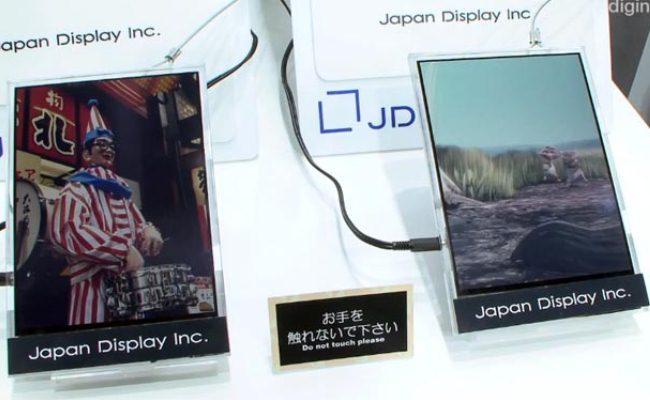 Japan Display prezanton ekran të teknologjisë së re