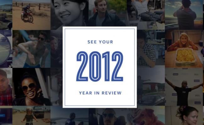 Ngjarjet tuaja me të mira të vitit 2012 në Facebook