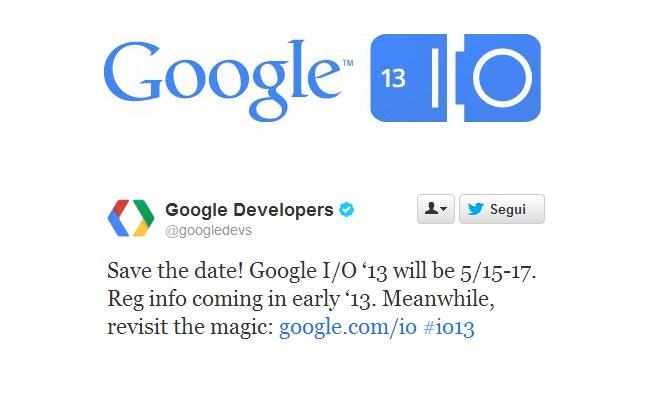 Caktohet data për konferencën vjetore Google I/O 2013