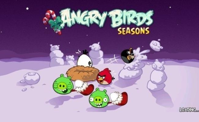 Angry Birds përditësohet me sezona të dimrit