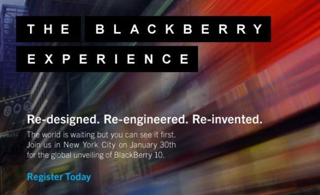 Shfaqen imazhe të sistemit operativ Blackberry 10