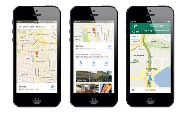 Google Maps kthehet prapë në Apple iOS