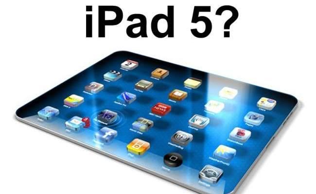 iPad 5 nga Apple në Mars 2013