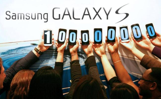 Samsung ka shitur 100 milion pasjisje Galaxy S