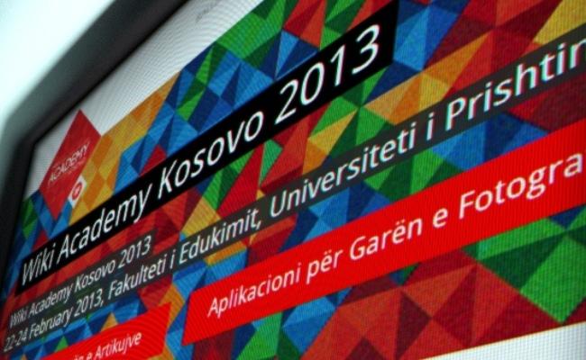 """Për here të parë në Kosovë, """"Wiki Academy Kosovo"""""""