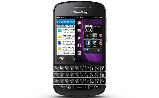 BlackBerry Q10 i ri me tastierë QWERTY