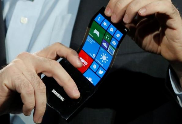 Ekrani Samsung fleksibil