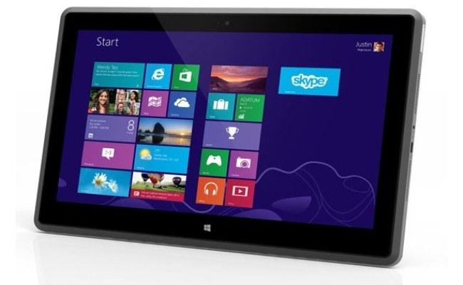 Vizio prezanton tabletin e parë me Windows 8