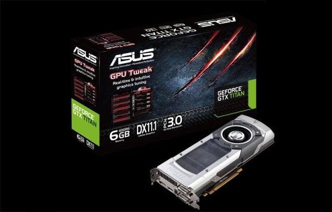 Asus lanson kartelën grafike GeForce GTX Titan