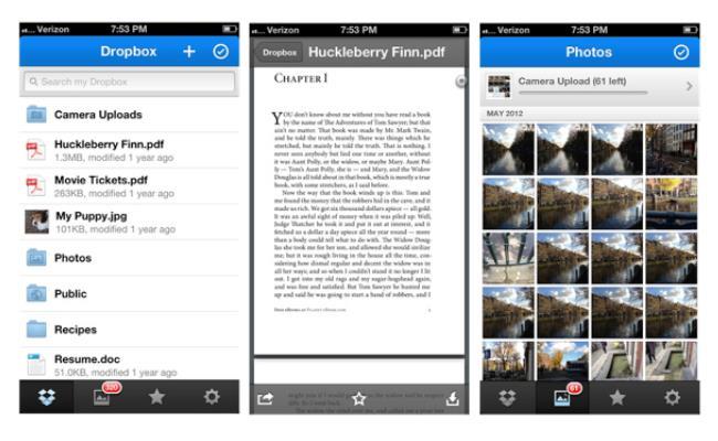 Dropbox ka lëshuar një përditësim të aplikacionit për iOS