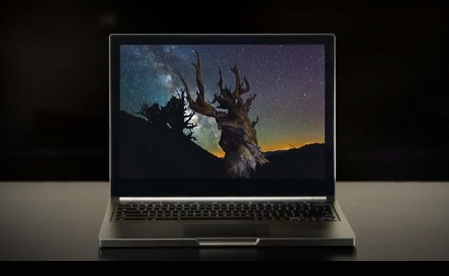 Google lanson pajisjen Google Chromebook Pixel