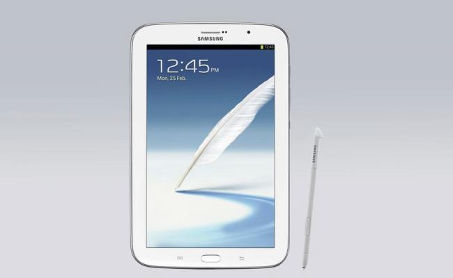 Samsung lanson tabletin Galaxy Note 8.0