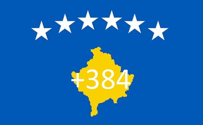 Kosova merr kodin telefonik +384