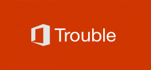 Microsoft Trouble