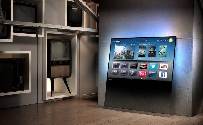 Philips kthen pllakën e qelqit në Television 3D