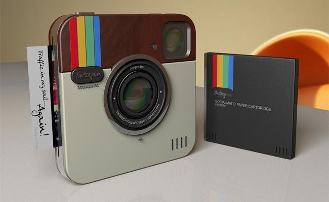 """Kamera koncept """"Polaroid Instagram"""" së shpejti në prodhim"""