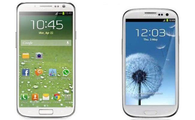 Samsung Galaxy S4 vs Samsung Galaxy S3