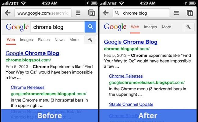 Përditësimi i ri i aplikacionit Google Chrome për Android dhe iOS