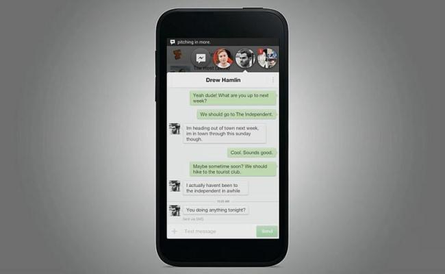 "Prezantohen ""Facebook Home"" dhe smartphone-i ""HTC First"""