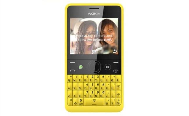 """Lansohet smartphone-i me tastierë QWERTY """"Nokia Asha 210"""""""