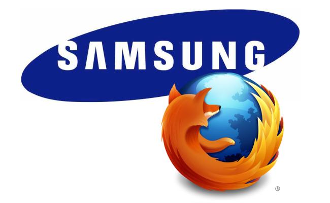 Mozilla bashkohet me Samsung për shfletuesin Ueb