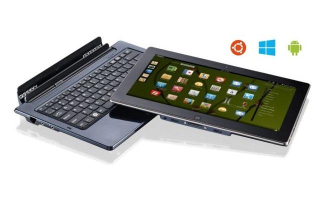 Tableti Ekoore Python S3 operon me Android, Windows 8 dhe Linux