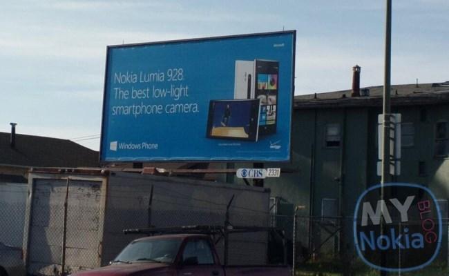 Nokia Lumia 928, reklamohet para lansimit