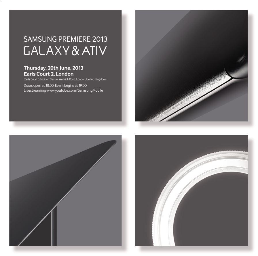 Samsung Premiere 2013 Galaxy & Ativ 1