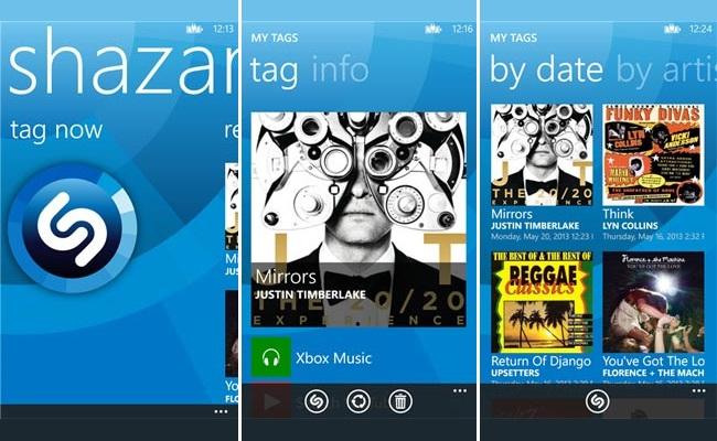 Shazam, tani në dispozicion edhe për platformën Windows Phone 8