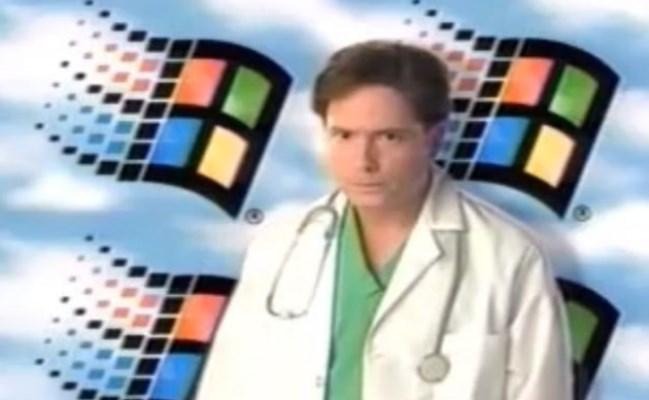 Reklamë: Windows 95 atëherë vs Galaxy S4 tani