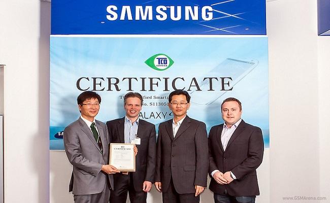 Samsung Galaxy S4 bëhet telefoni i parë që merr certifikatën TCO