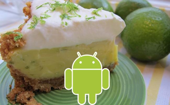 Versioni Android 5.0 Key Lime Pie, vjen në Tetor