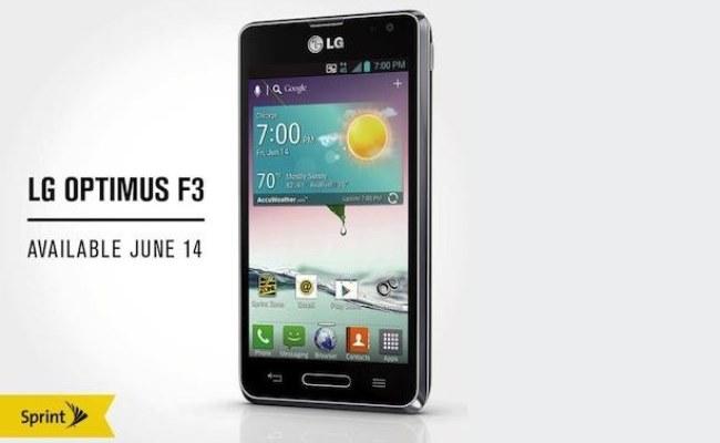 LG njofton për smartphone-in Optimus F3