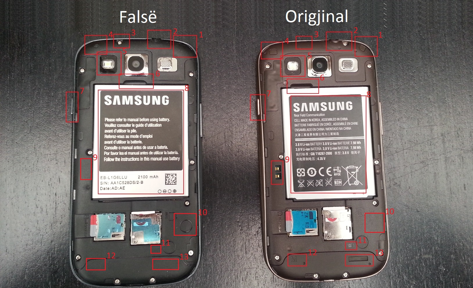 Samsung Galaxy S3 dallimi1