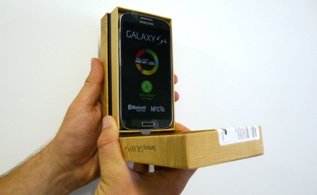 Video Shpaketim: Samsung Galaxy S4