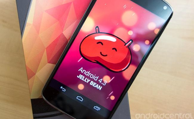 Rrjedhin video pamjet e versionit Android 4.3