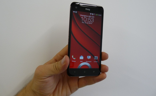 HTC Butterfly Frontale - ameble