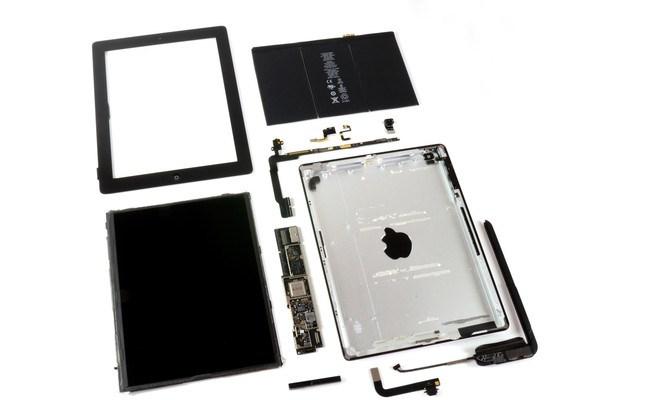 Apple porosit në sasi të madhe panele për ekrane