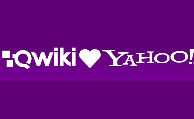 Yahoo blen aplikacionin Qwiki iOS për 50 milion $