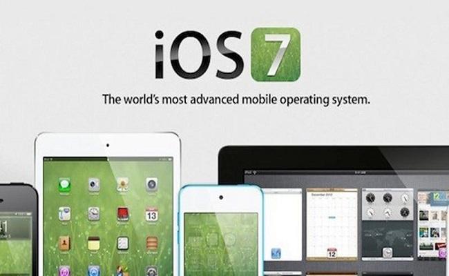 iOS 7 përditësohet me versionin Beta 4