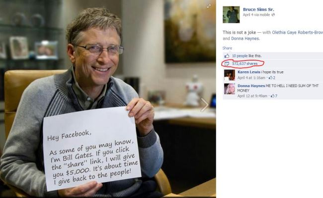 Bill Gates FB