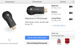 Google chromecast iOS