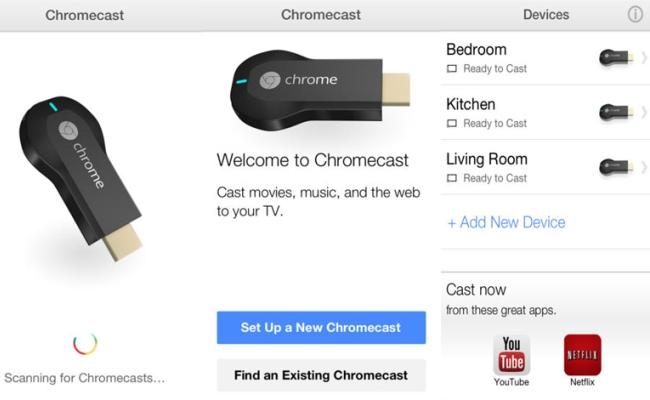 Lëshohet aplikacioni Google Chromecast për iOS