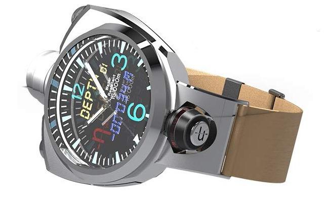 Prezantohet Hyetis Crossbow Smartwatch me kamerë 41 Mpix