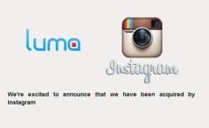 Instagram blen Luma