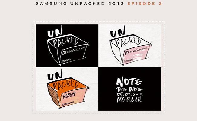 Samsung Galaxy Note 3 publikohet me 4 Shtator