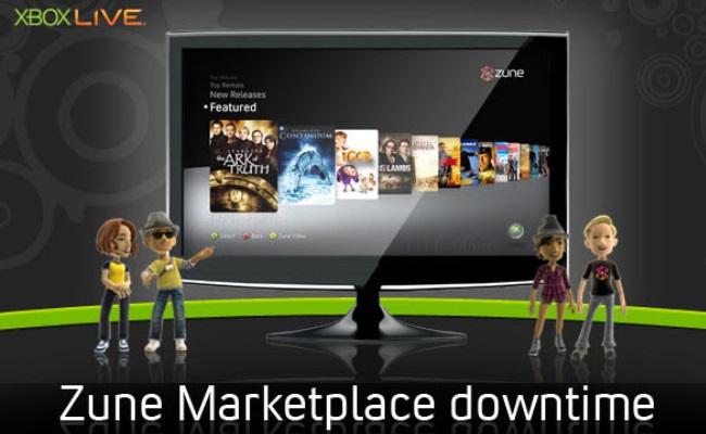 Microsoft shuan shërbimin Zune Marketplace
